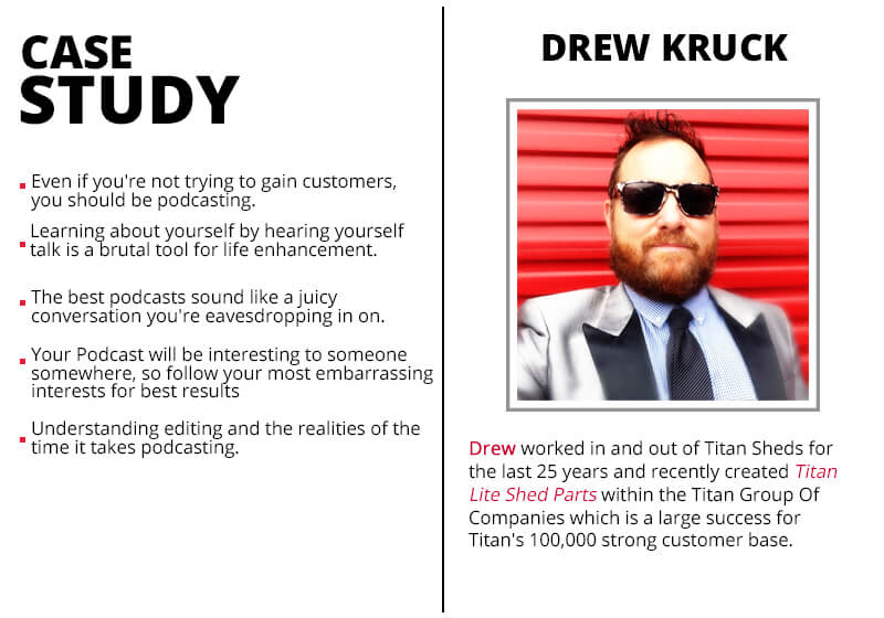 Drew Kruck_ad We Are Podcast