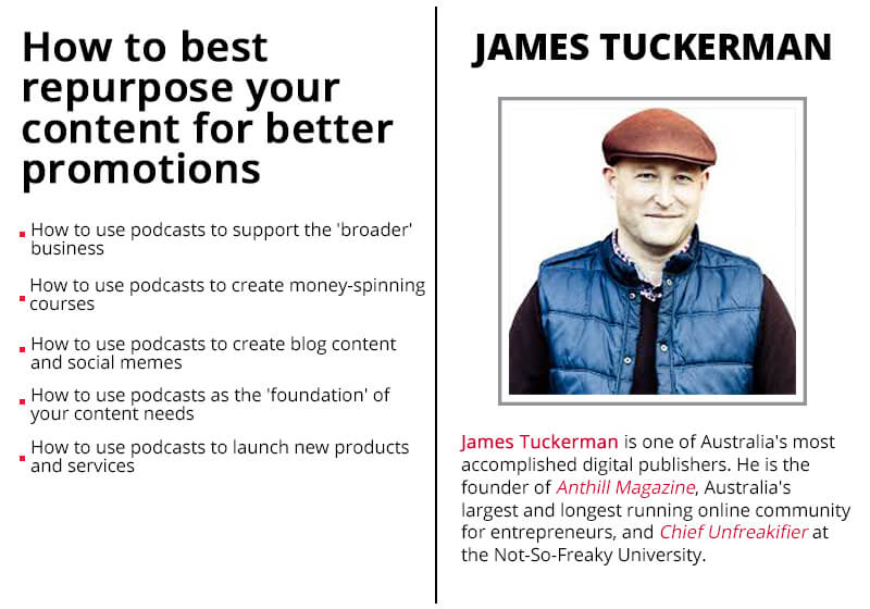 James Tuckerman_ad We Are Podcast