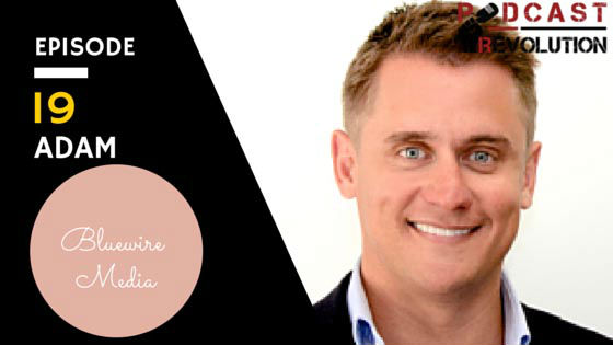 19. From old school marketing to new age platforms with BlueWire Media legend Adam Franklin