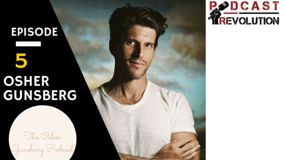 5. Contagious stories, Doing what you're passionate about, and the Privilege to be listened to with Osher Gunsberg