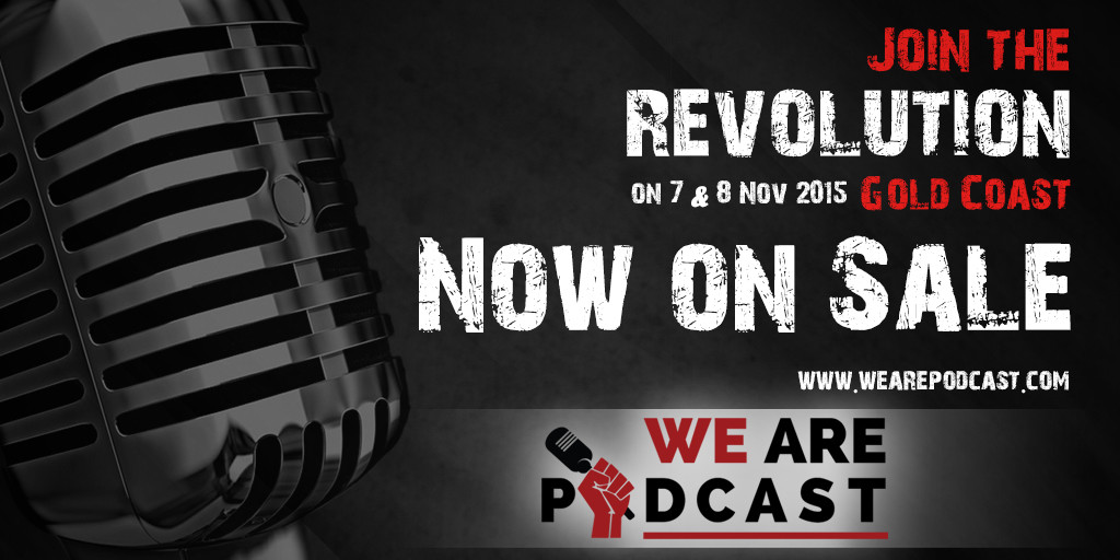 Early Bird Tickets Now On Sale We Are Podcast