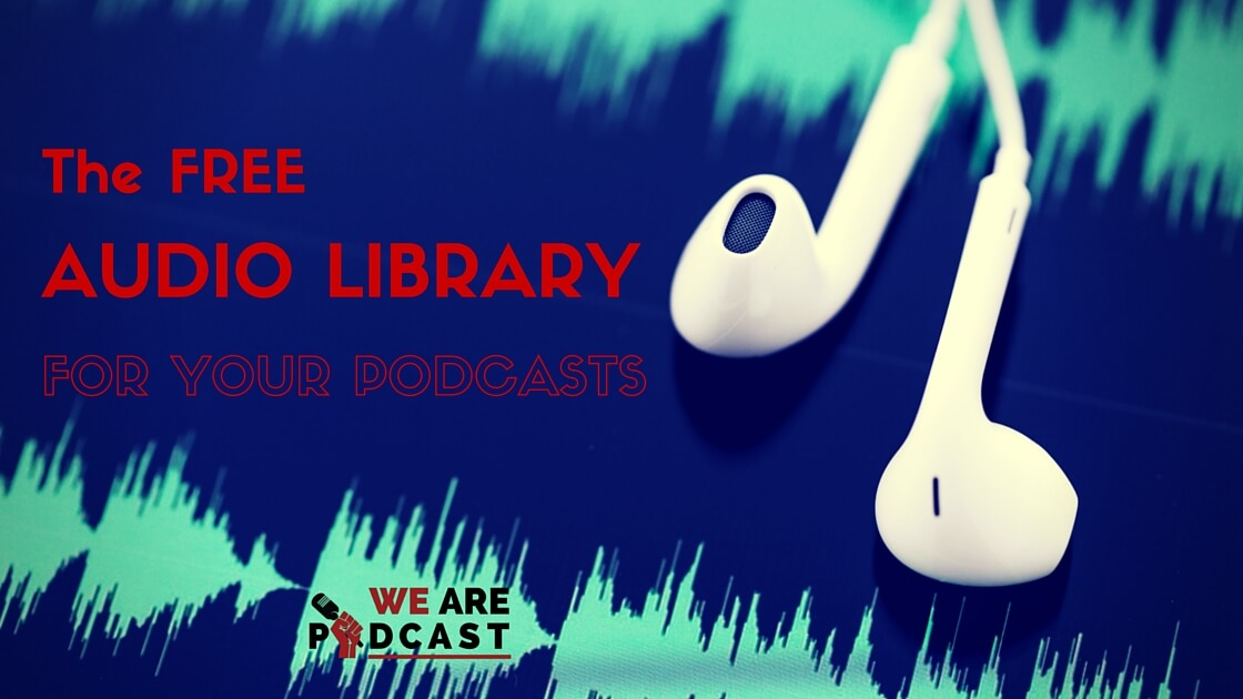 The FREE audio library you've always wanted