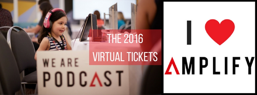 2016 virtual tickets for We Are Podcast